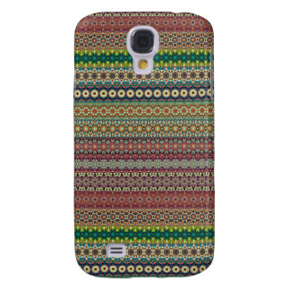Tribal striped abstract pattern design samsung galaxy s4 cover