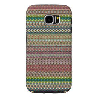 Tribal striped abstract pattern design samsung galaxy s6 cases