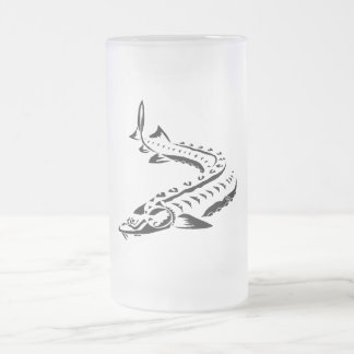 Tribal Sturgeon - Beer Mug