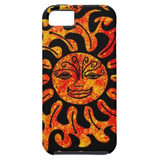 Tribal Sun iPhone 5 Case