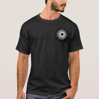 Tribal Sun Design Men's Basic Dark T-Shirt