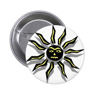 Tribal Sun Tattoo Pin