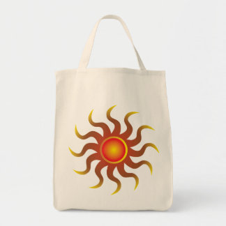 Tribal Sun Grocery Tote Bag