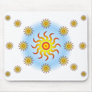 Tribal Suns Mouse Pad