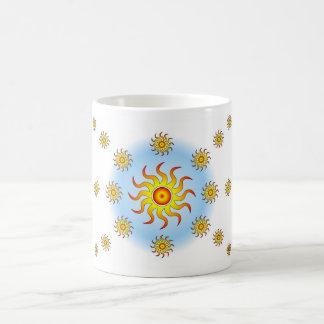 Tribal suns mug