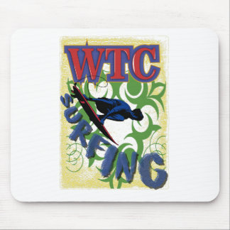 Tribal surfing mouse pad