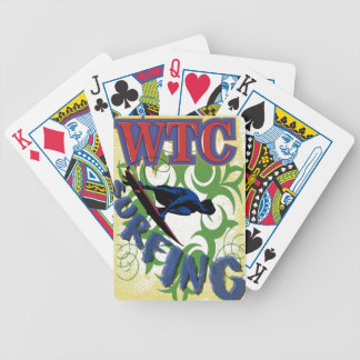 Tribal surfing poker deck