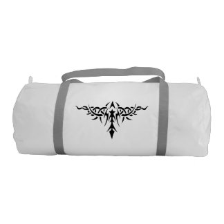 Tribal Tattoo Design Bag Gym Duffel Bag