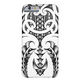 Tribal tattoo design in Maori & Samoan style Barely There iPhone 6 Case