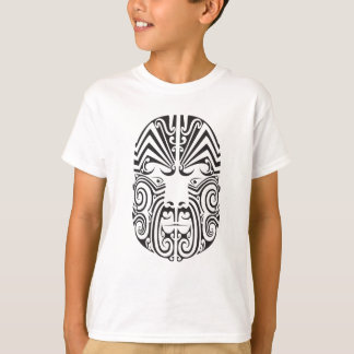 Tribal Tattoo Face T-Shirt