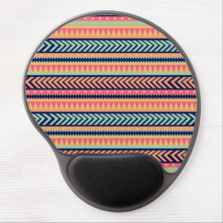 Tribal Texture Stripes Gel Mouse Pads