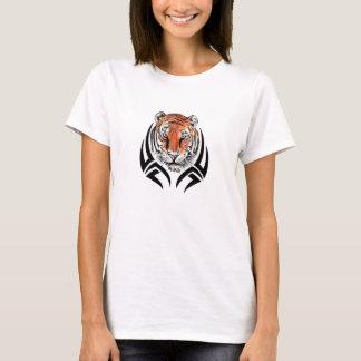 Tribal Tiger-Ladies Babydoll Tee