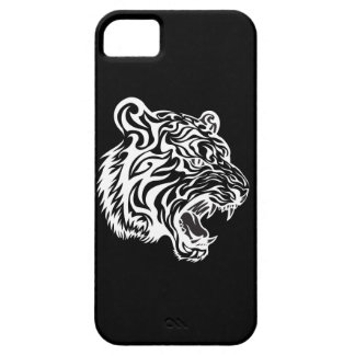 Tribal Tiger Tatto Black and White 2 Case For The iPhone 5