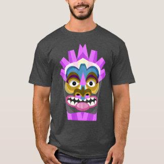 Tribal Tiki Head Funny T-Shirt