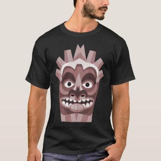 Tribal Tiki Mask Tropical Island T-Shirt
