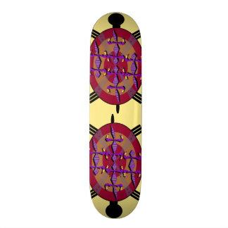 Tribal tortle 21.6 cm skateboard deck