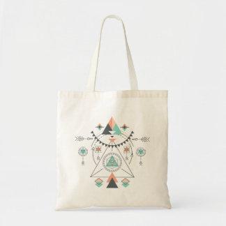 Tribal Totem Geometric Design