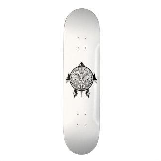 Tribal Turtle Shield Tattoo Skate Boards