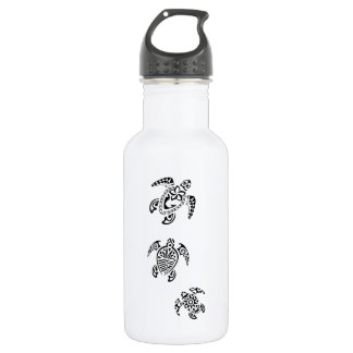 Tribal Turtle Trio Design 532 Ml Water Bottle
