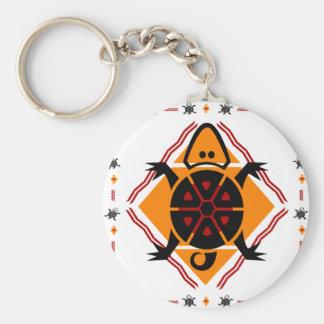 tribal-turtles key ring