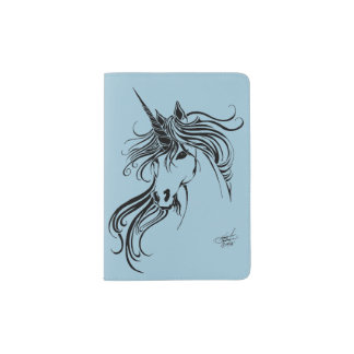 Tribal Unicorn Passport Holder