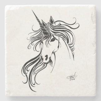 Tribal Unicorn Stone Coaster