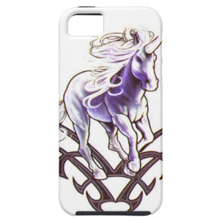 Tribal unicorn tattoo design iPhone 5 case
