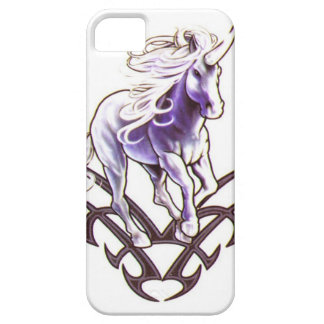 Tribal unicorn tattoo design iPhone 5 cover