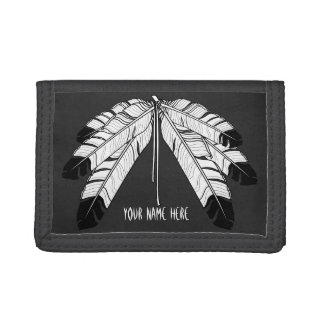 Tribal Wallet Custom Native Wildlife Art Wallet