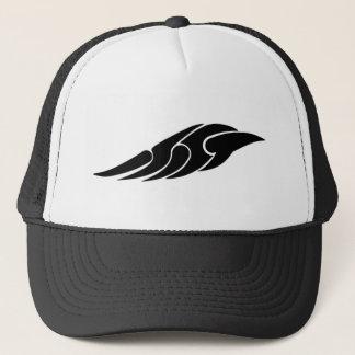 Tribal wing trucker hat