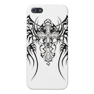 tribal wings cross case for iPhone 5/5S