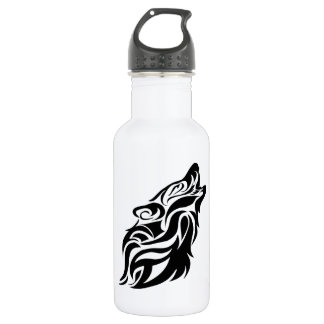 Tribal Wolf 532 Ml Water Bottle