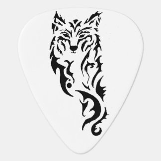 Tribal Wolf Plectrum