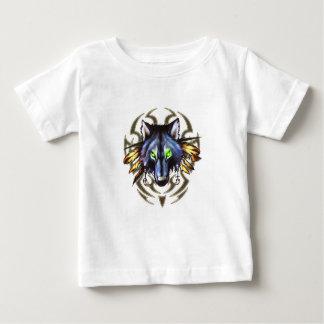 Tribal wolf tattoo design baby T-Shirt