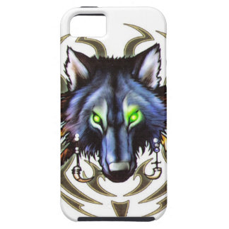 Tribal wolf tattoo design iPhone 5 covers