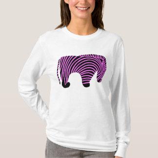 Tribal Zebra- Hot Pink T-Shirt