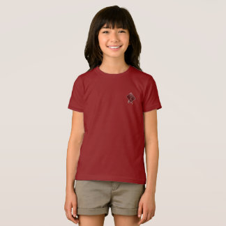 Tribe Asher Cranberry Red Girls Jersey T-Shirt