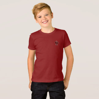 Tribe Asher Cranberry Red Kids T-Shirt