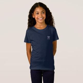 Tribe Benjamin Dark Blue Girls Fine Jersey T-Shirt