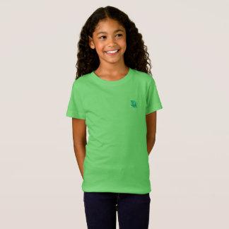 Tribe Ephraim Lime Green Girls Fine Jersy T-shirt