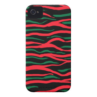 tribe green&red iPhone 4 case