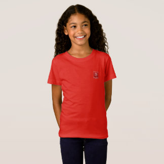Tribe Judah Red Girls Fine Jersey T-Shirt