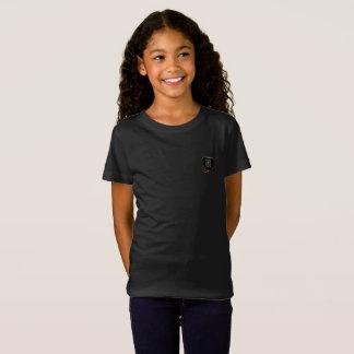 Tribe Levi Girls Black Fine Jersey T-Shirt