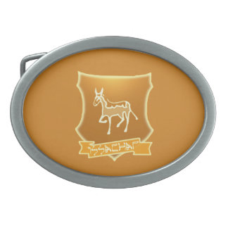 Tribe Of Issachar Oval Belt Buckle