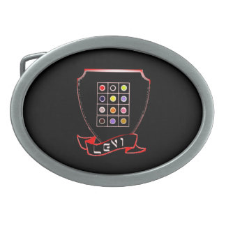 Tribe Of Levi Crest Oval Belt Buckle