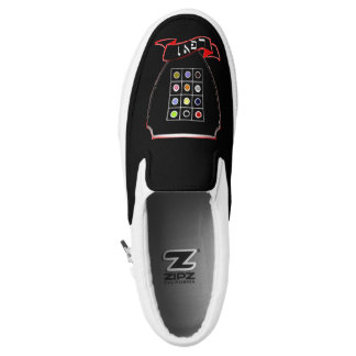 Tribe Of Levi Crest Zipz Custom Sneakers