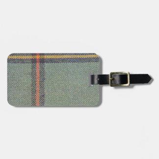 Tribe of Mar/Marr Ancient Tartan Luggage Tag