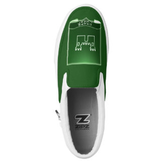 Tribe Of Simeon Crest Custom Zipz Sneakers