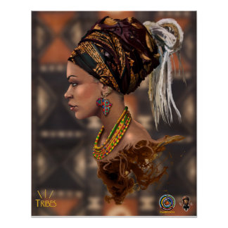 Tribe Queen 02 Poster