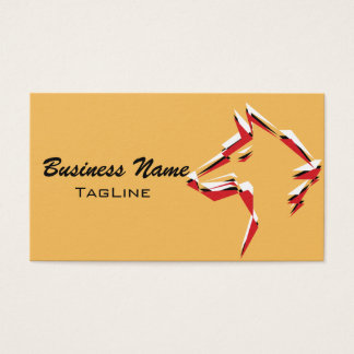 TribeWolf Trico Business Card